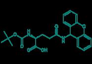Boc-Gln(Xan)-OH, 98%