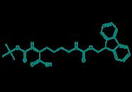 Boc-Lys(Fmoc)-OH, 98%